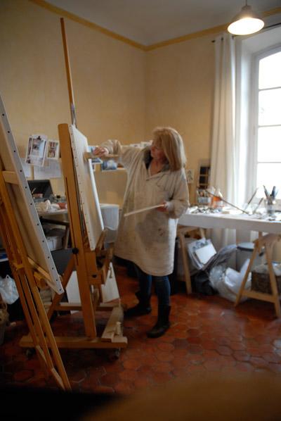 peinture provence atelier