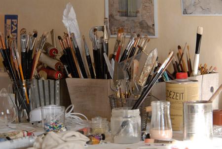 ateliers d 39 artistes mon atelier doro t peintredoro t peintre. Black Bedroom Furniture Sets. Home Design Ideas