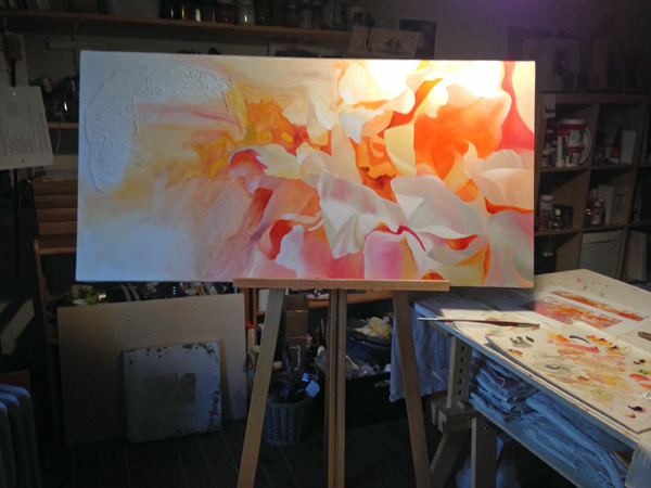 preparation-coeur-petale-pivoine-toile