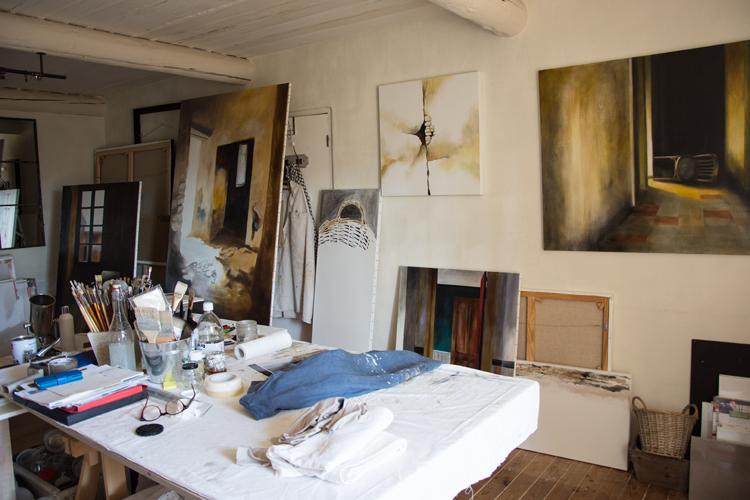 atelier DoroT peintre Gordes
