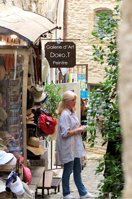 rue du four Gordes DoroT