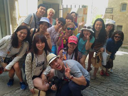 Groupe-Taiwan-Juillet15-Gordes