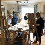 stage atelier peinture provence